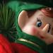 Small photo of Creepy elf