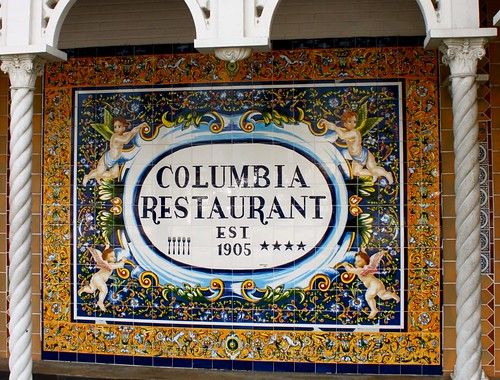 The columbia Restaurant, Tampa, Florida