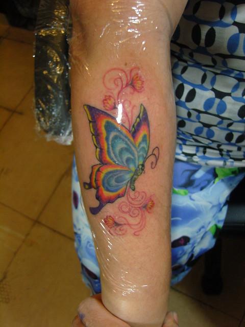 Para Mujeres Tatuajes Mariposas Piel