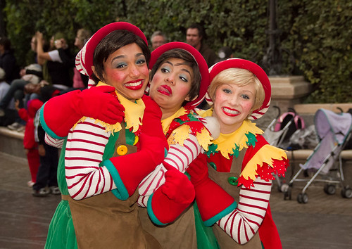 A Christmas Fantasy Parade: Elves