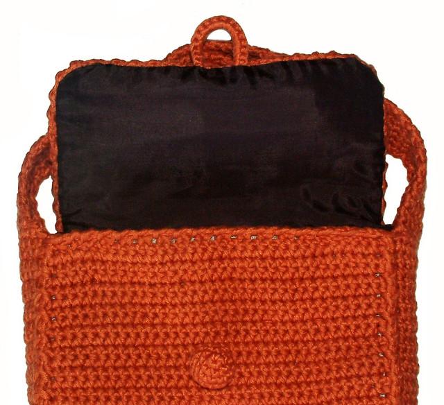 Crochet Bag Easy : Easy Basic Crochet Bag/Purse Pattern - inside Flickr - Photo Sharing ...