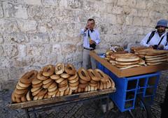 耶路撒冷街头人文-街头小贩