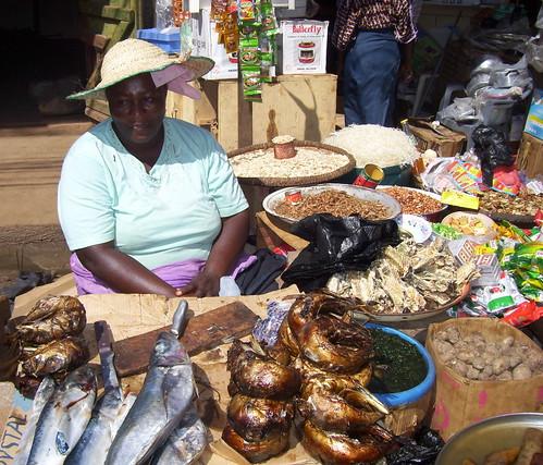 africa fish portraits nigeria monger josmarket