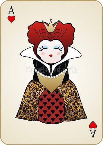 red queen card
