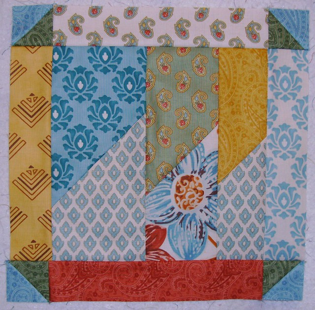 Layer Cake Quilt Along : Block 6 Layer Cake Quilt Along Flickr - Photo Sharing!