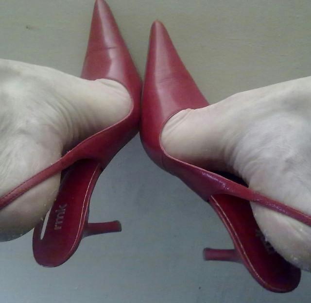 Red Slingback Shoes Australia