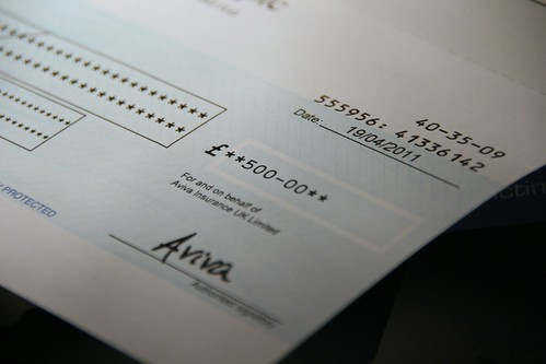 Project 365 #111: 210411 Cheque Out