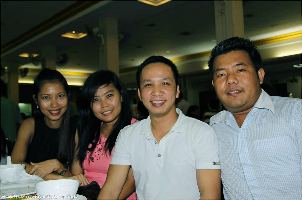 Meeting current and former staffs of Myanmar Travel (Nway Nway - Thet Su Mar - Alan - Aung Chan Lin)