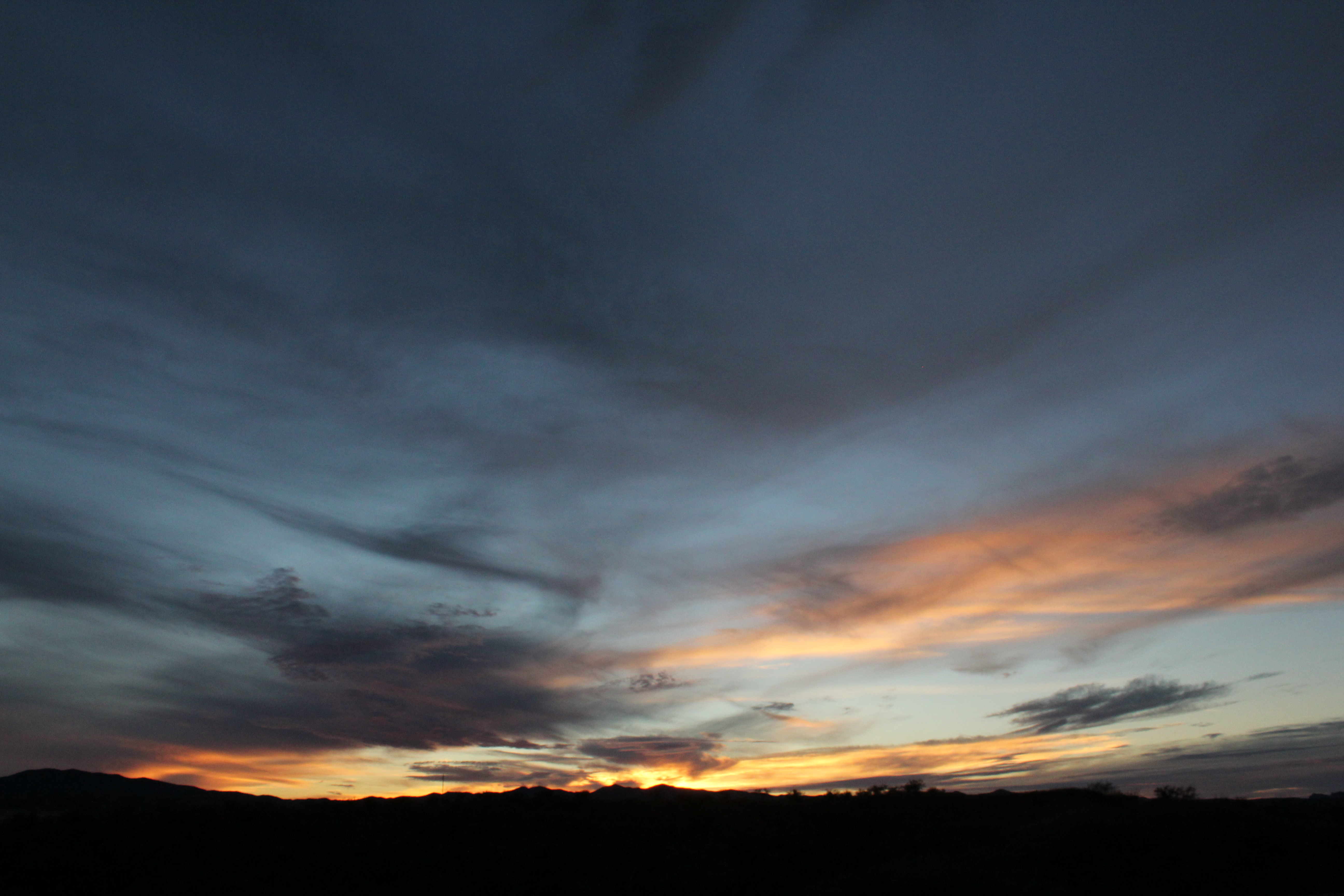 november light sunset wild arizona cactus sky mountains southwest nature  clouds outdoors evening colorful shadows desert