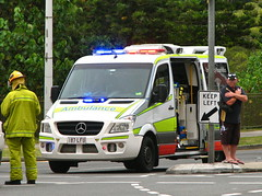 QLD Ambulance Service Mercedes Benz Sprinter