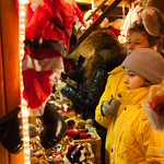 Christmas market in Szombathely