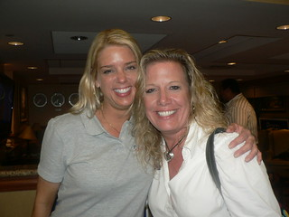 DC Works for Us Founder Karin Hoffman with Pam Bondi.