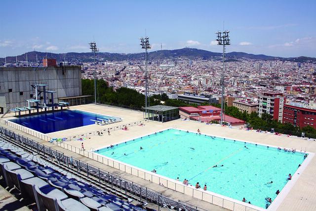 piscina municipal de montju c barcelona flickr photo