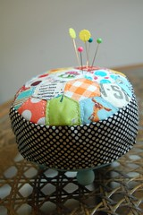 footstool pincushion