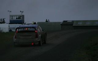 Into the darkness: Miiko Hirvonen / Jarmo Lehtinen - Ford Focus RS WRC Wales Rally GB 2010