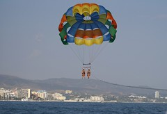 surface water sports, parachute, sports, parasailing, windsports, extreme sport, water sport,