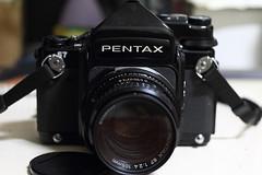 新玩具 ~PENTAX 67 120中幅相機
