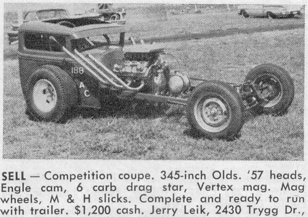 Bantam Coupe advert