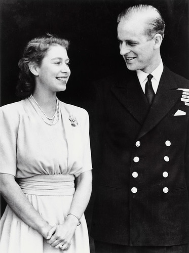 Engagement of Princess Elizabeth and Lt Philip Mountbatten, 1947