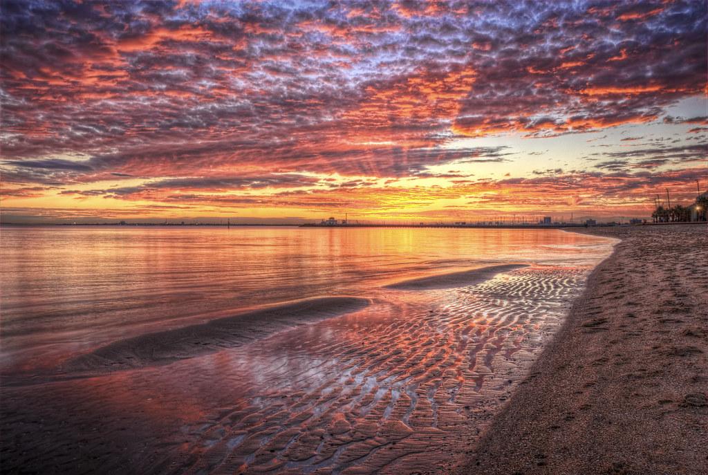 St Kilda beach, Австралия