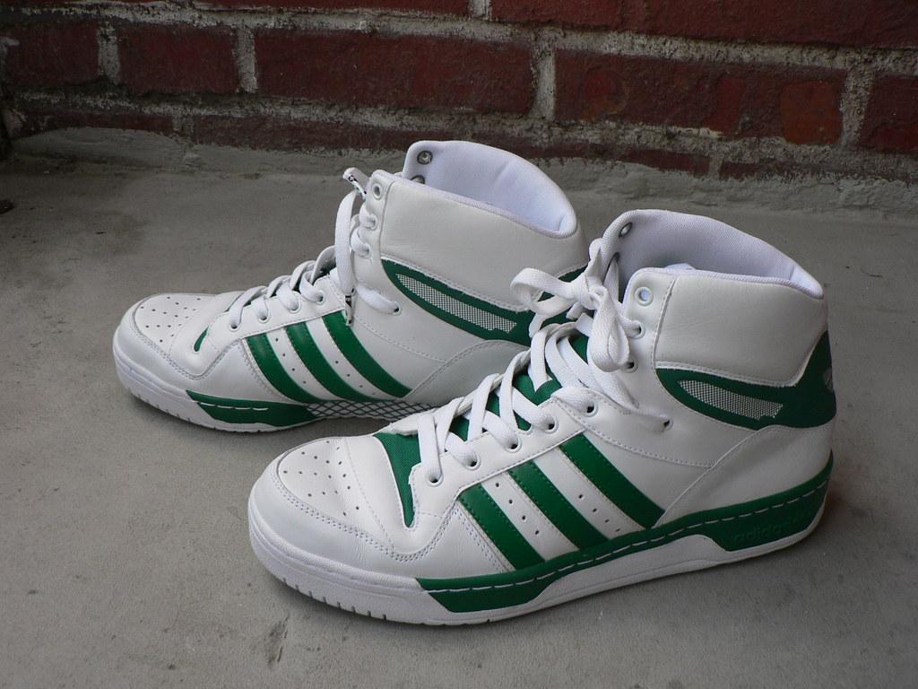 online store b1556 396a3 Adidas Attitude Hi Green (Boston Celtics)