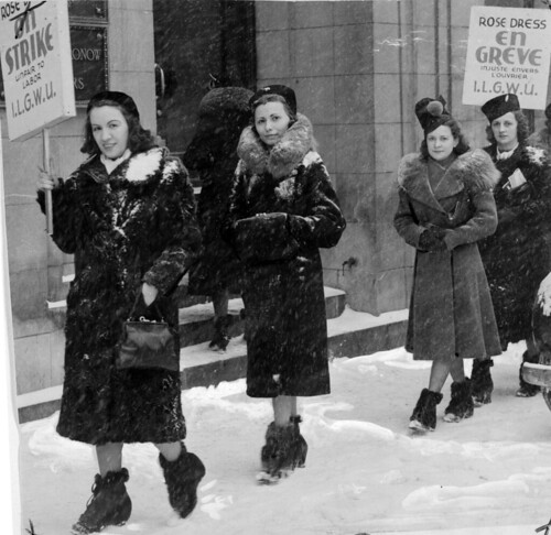 Women workers of Rose Dress company