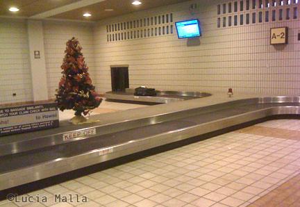 Esteira de bagagem