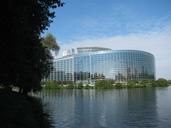The European Parliament building