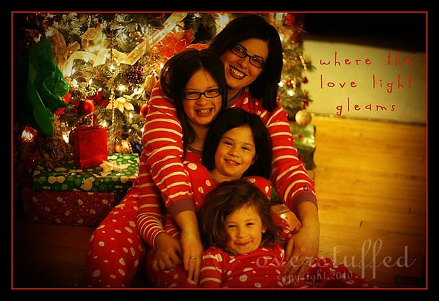 Open Christmas PJs on Christmas Eve—fun family Christmas Tradition