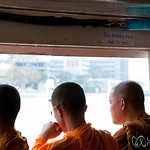 Space for Monks on River Boats - Bangkok, Thailand