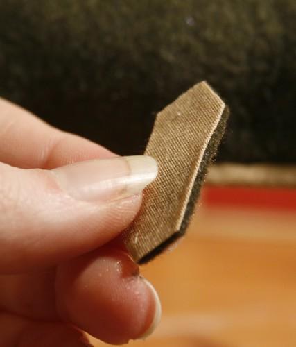 Surcingle pad