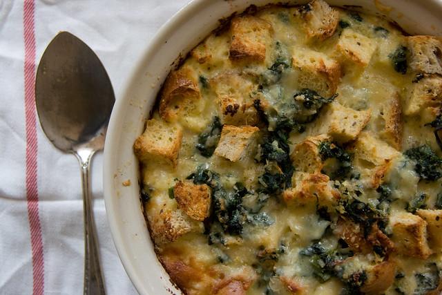 Spinach & Gruyere Strata | Flickr - Photo Sharing!