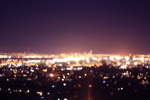 These city lights keep us company