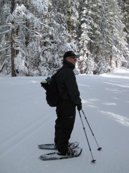 Snowshoeing in Yosemite (Kurt & Molly)