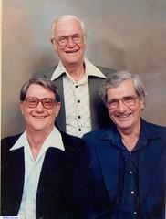 Left Glen, Vern and Don East.