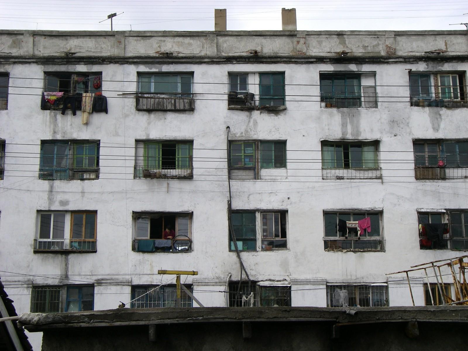 Block of flats, Wonsan
