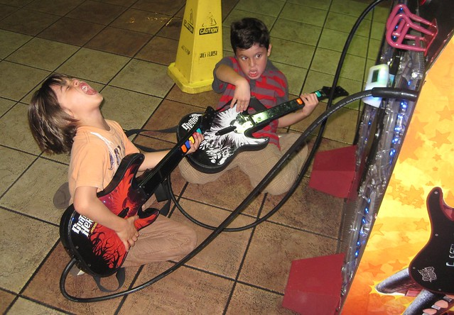 Rocking Out at World's Largest McDonald's - Orlando Florida