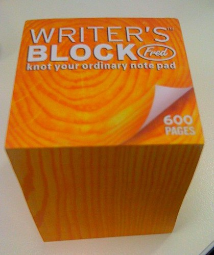 I have writers block .. HELP .?!?