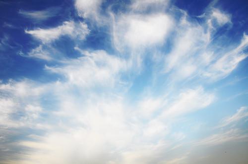 [フリー画像素材] 自然風景, 空, 雲, 青空 ID:201211231200