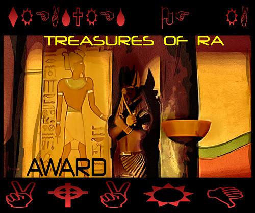 TREASURES OF RA AWARD ...