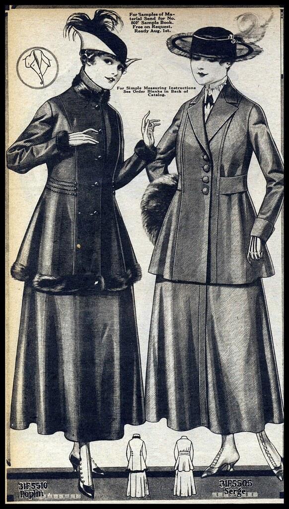 1916 Sears Christmas Catalog, women's coats | maria | Flickr