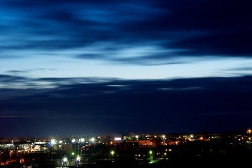 city sunset sky nikon sigma 70300 d3100
