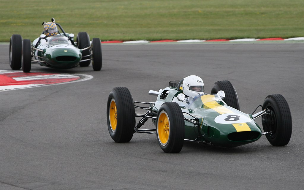 Lotus Type 25 F1 car at Snetterton Lotus Festival 2010