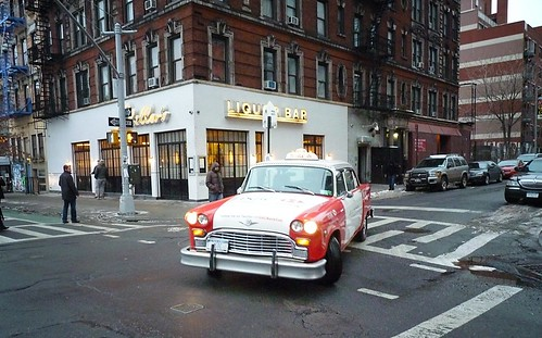 HSBC Bank Cab, Lower East Side, New York City 890 by Vivienne Gucwa