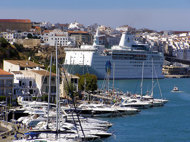 photo - Port Mahon, Menorca  Approaching Port Mahons pier …  Flickr - ...
