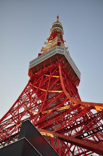 東京タワーふもと