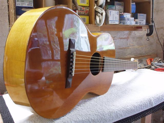 Homemade Parlor guitar | 1918 Martin 1-18 plan  Red Cedar to… | Flickr