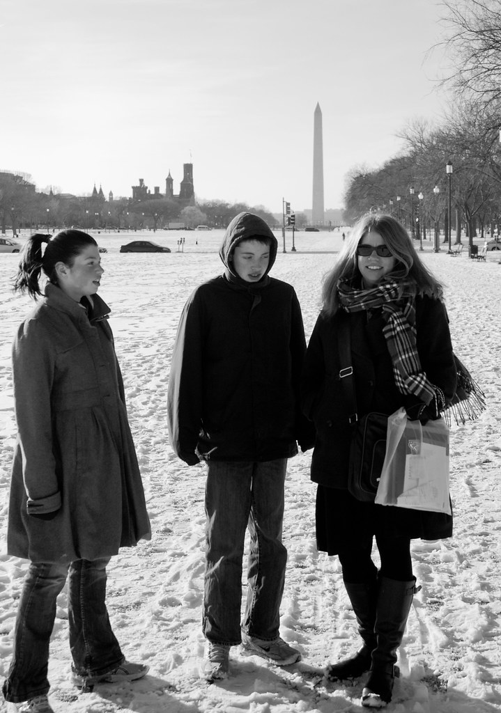 Snow on the Mall