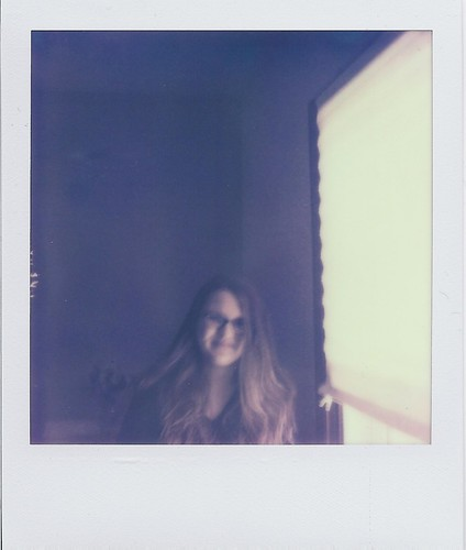 film window girl smiling female analog laughing vintage polaroid sx70 glasses longhair naturallight retro shelby push analogue notdigital manualfocus pola hangingout lightanddark asa100 foldingcamera instantfilm primelens newfilm fixedfocallength pxpush projectimpossible sx70colorshade shelberton bestfriendweek2 polaroid116mmf8lens