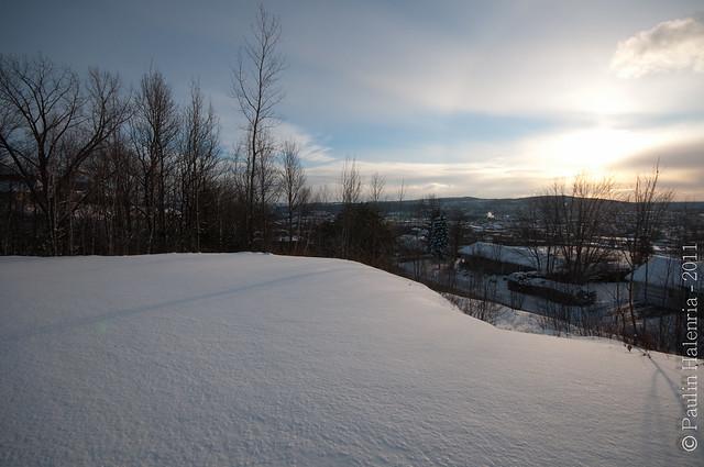 Sherbrooke sous neige